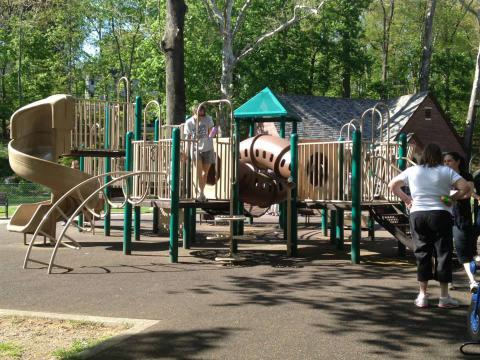 Small Playground at Grover Cleveland