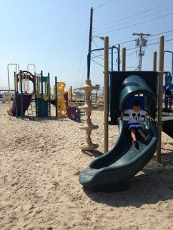 Municipal Beach Park in Somers Point