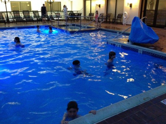 Sheraton Philadelphia Society Hill hotel pool