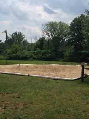 Beach Volleyball Court!