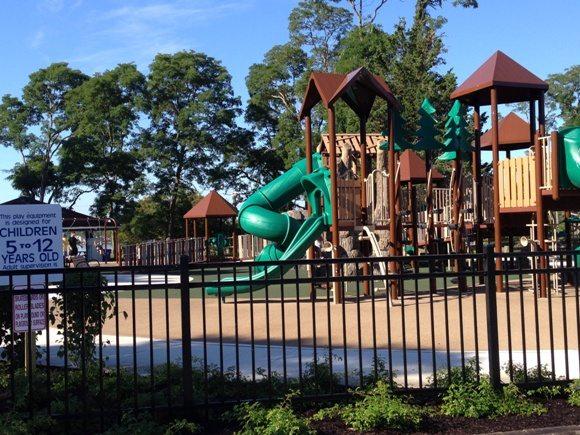 Older children side of the playground