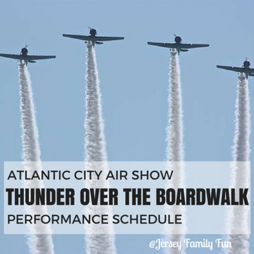 AC Airshow Schedule