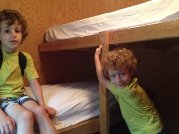 Baker's Acres Campground bunk bed