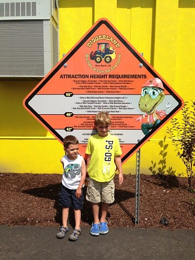 Diggerland Height Requirements