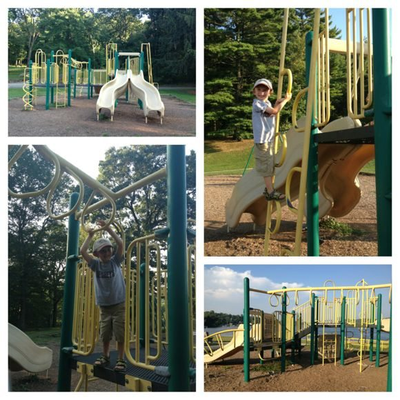 There are 2 fun and exciting playgrounds at Hopatcong State Park.