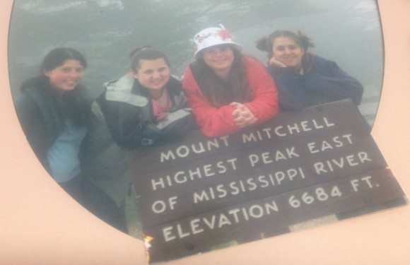 We climbed to the top of Mount Mitchell while learning the devastation polluted rain water can wreak on our trees. Can you guess which one I am?