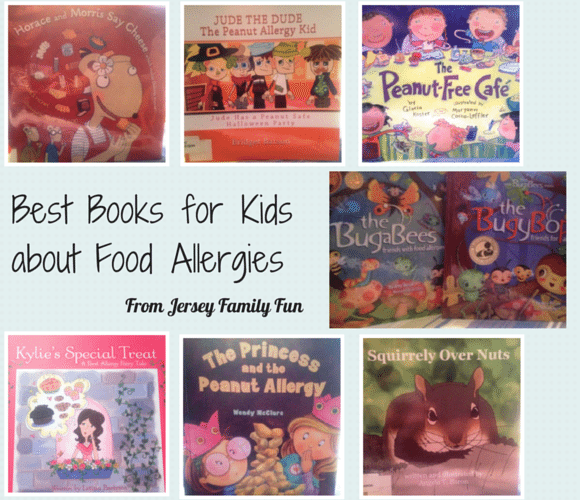 Childrens book food allergies