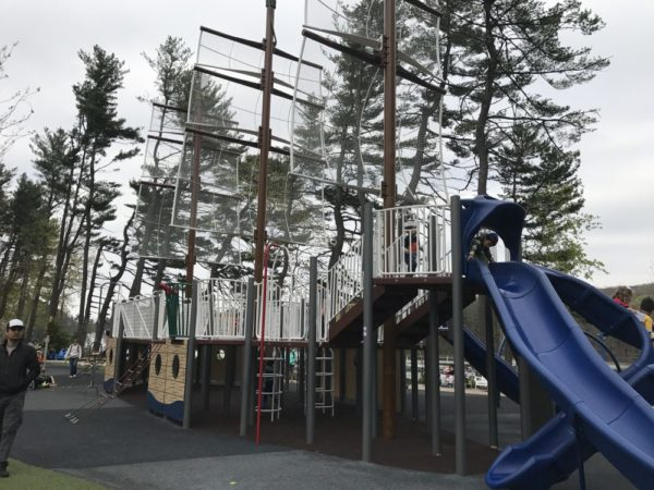 Lion's Pride at Regatta Playground - South Mountain Recreation Complex West Orange Parks & Playgrounds in Essex County Photo Credit Jersey Family Fun