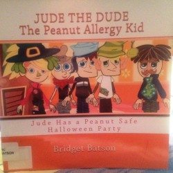 Jude the Dude The Peanut Allergy Kid Author Bridget Batson 500