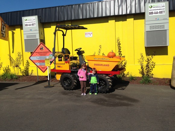 So excited to check out Diggerland USA.