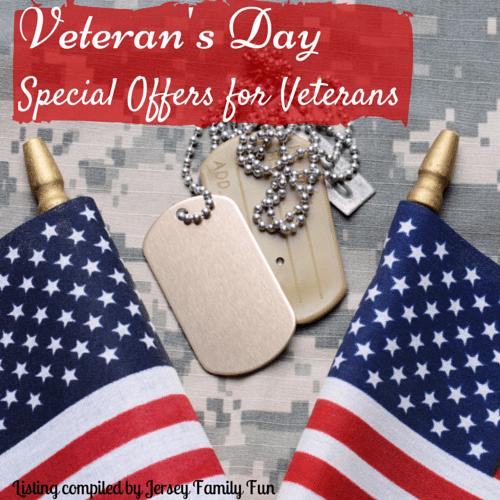 Veteran's Day Offersfor Veterans
