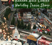 Barron Arts Center Holiday Train Show