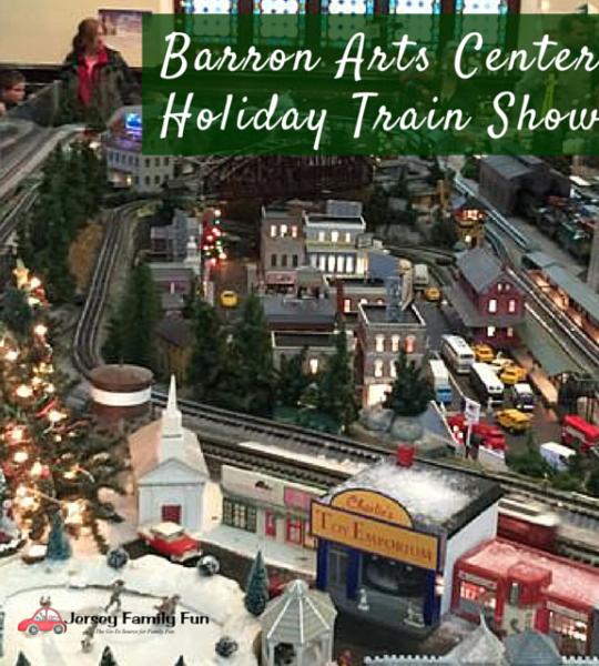 Barron Arts Center Holiday Train Show