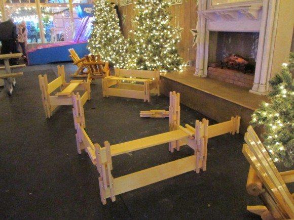 Blue Cross RiverRink Winterfest build