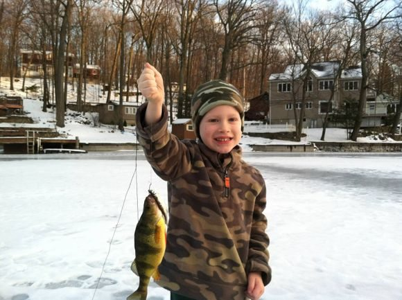 Ice Fishing in New Jersey