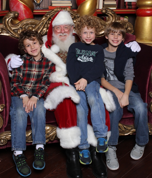 Santa photos in New Jersey
