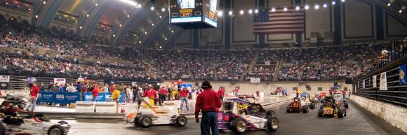 NAPA Auto Parts presents Indoor Auto Racing