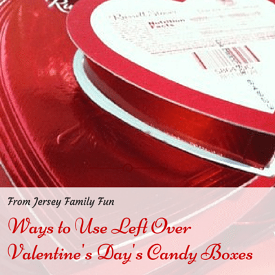 Leftover Valentine's Day's Candy Boxes