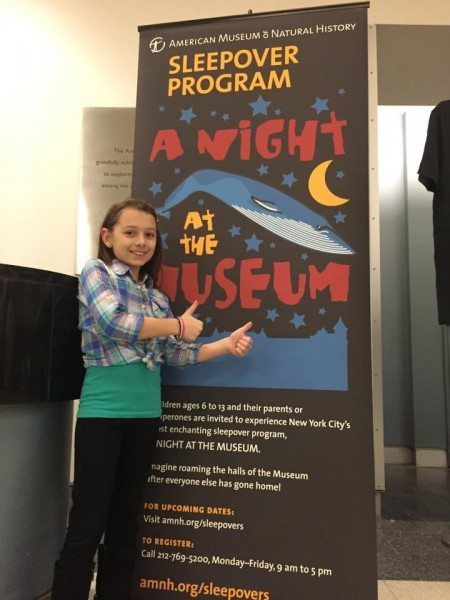 NYC Night at the Museum overnight program