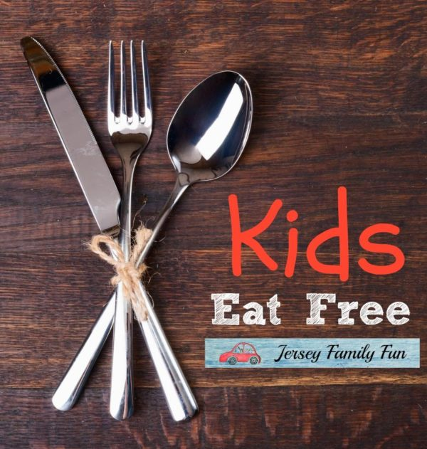 kids eat free image for Jersey Family Fun