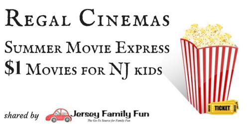 Regal Cinemas Summer Movie Express