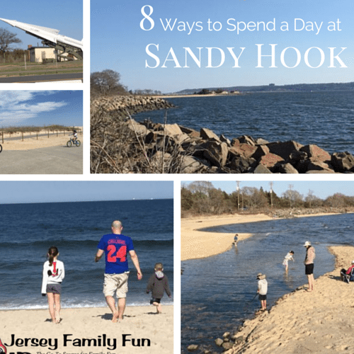 Sandy hook with kids