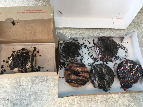 Enjoy these yummy doughnuts on National Doughnut Day