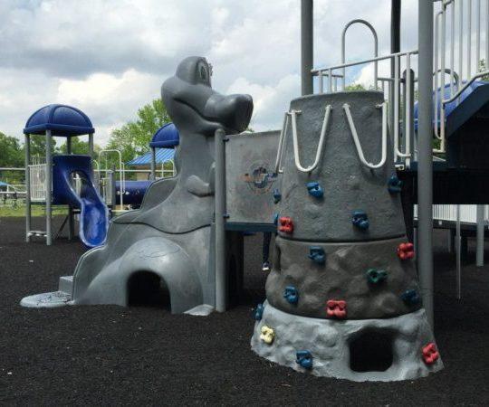 Phil Rizzuto Park in Elizabeth in Union County New Jersey