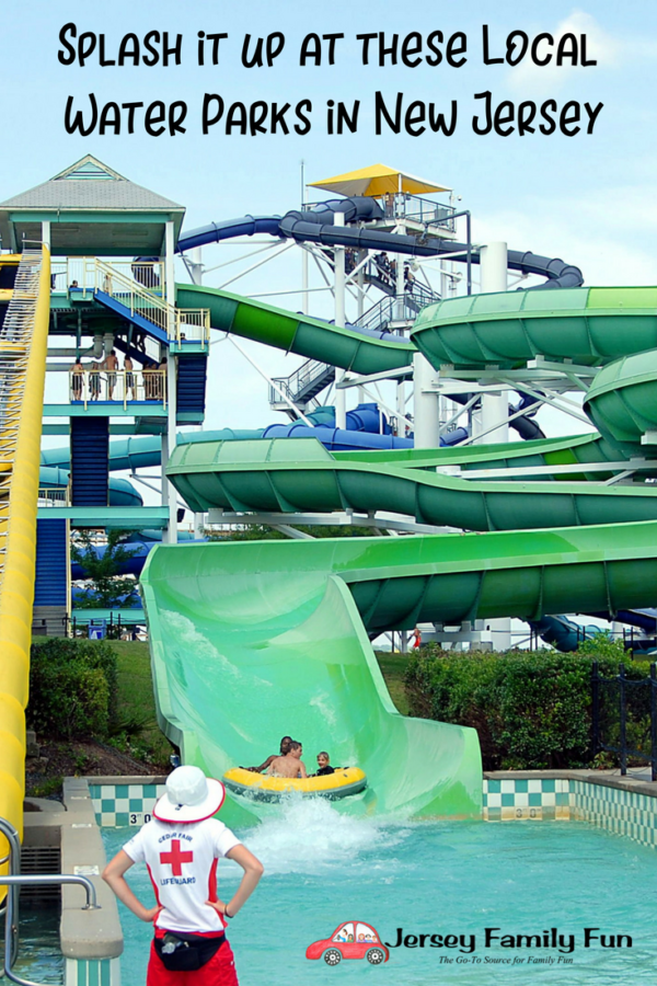Local water parks in NJ