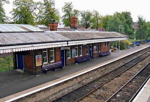 Replica Train Station