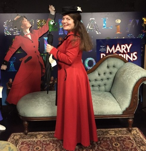 Dressing up as Mary Poppins