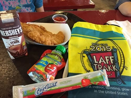 All this comes with the kids meal at HersheyPark!