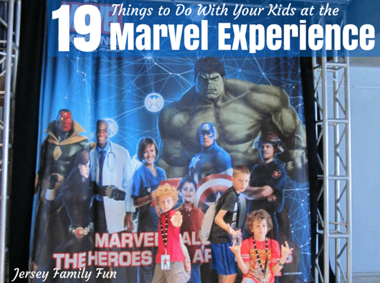19 things to do with your kids at the marvel experience