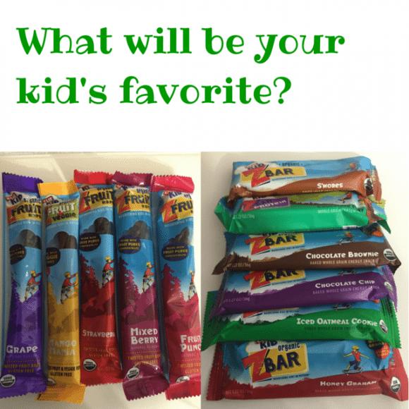 CLIF Kids snacks