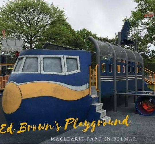 Ed Brown's Playground at Maclearie Park in Belmar New Jersey