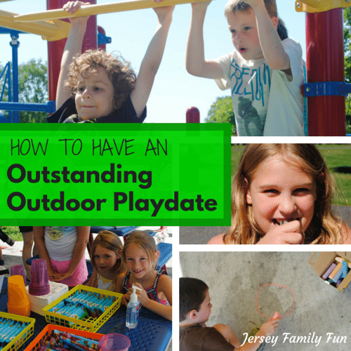 How to have an outstanding outdoor playdate