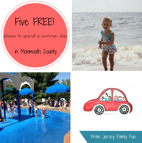free places to visit in Monmouth County with your kids this summer.