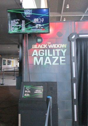 Marvel Experience Black Widow Agility Maze