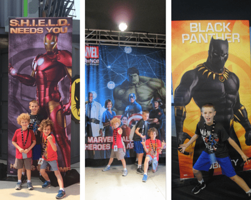 Marvel Experience Collage 1