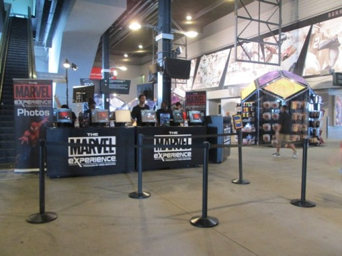 Marvel Experience gift shop
