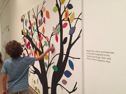 Philadelphia Art Museum Art Splash magnetic tree