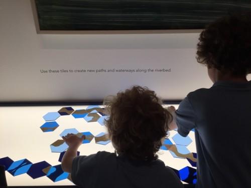 Philadelphia Art Museum Art Splash r is for river
