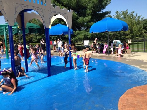The dorbrook sprayground is another free place to visit in Monmouth County with your kids this summer.