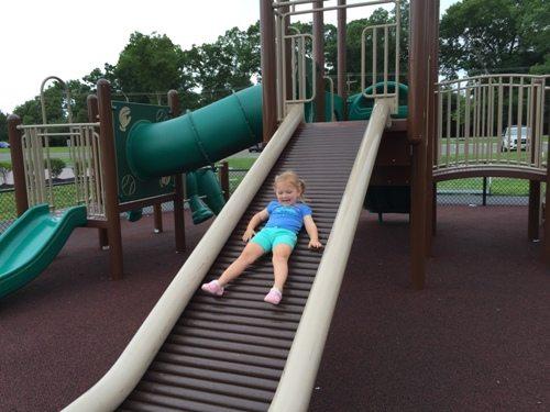 The bumpy slide