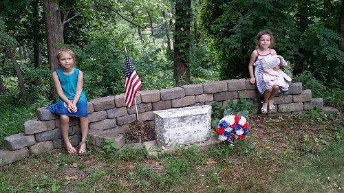 Visit William Schuck's grave before leaving