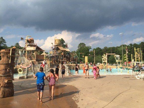 Hurricane Harbor water playground 2