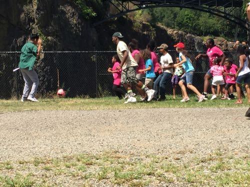 Playing Lenni Lenape Soccer