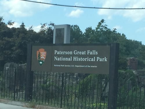 At the Overlook Park entrance
