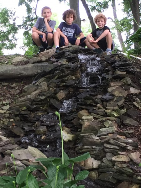 This picture from the waterfall is going to be one of my favorites for a long time to come.