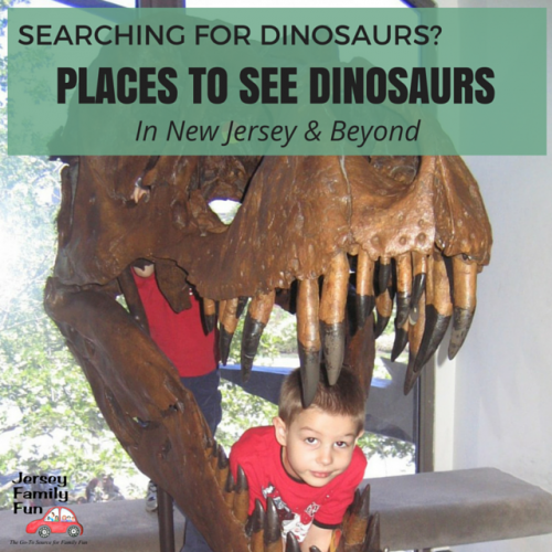 Places to see dinosaurs in New Jersey